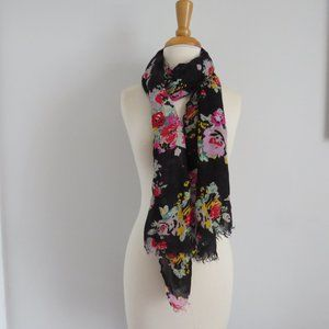 Rectangle Floral Scarf